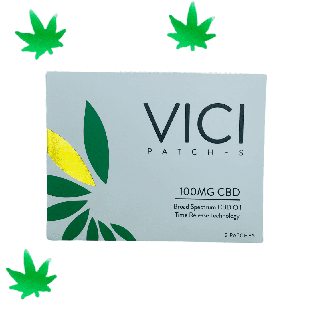VICI Patches - $15 | Ingredients: 100mg broad spectrum CBD hemp oil