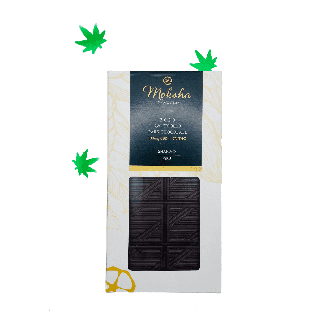 Other: Moksha Chocolate  - $18 | Ingredients Cacao bean, organic cane sugar,  cacao butter,  20mg cannabidiol isolate (No THC).