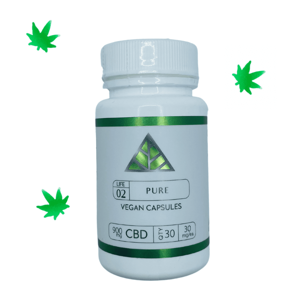 Color Up CBD Capsules - $75 | Ingredients: Pure CBD Vegan Capsules